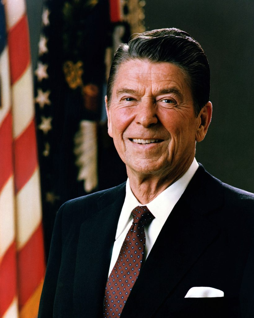 Official Portrait of President Reagan